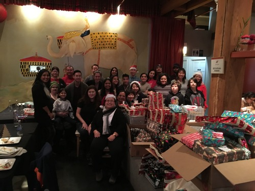 Chinese Mutual Aid Association Holiday Gift Drive 2020
