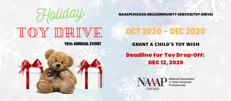 NAAAP Chicago 18th Holiday Toy Drive